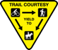 Biking, hiking or horseback - Trail Courtesy Tips.